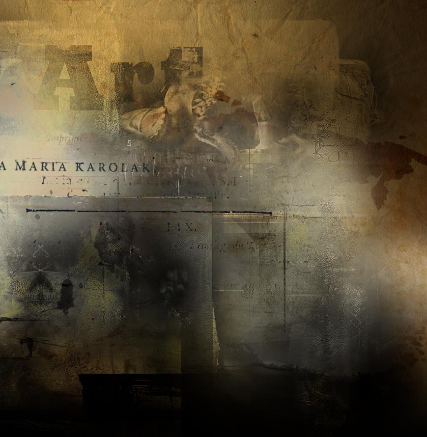"""""""Imaginations II/II"""" - fragment II, digital art, Anna Maria Karolak, 2012."""