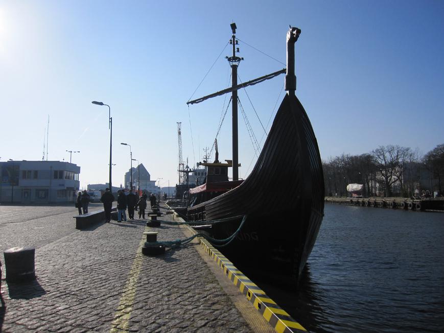 Kołobrzeg, Port Morski, 23.02.2014.